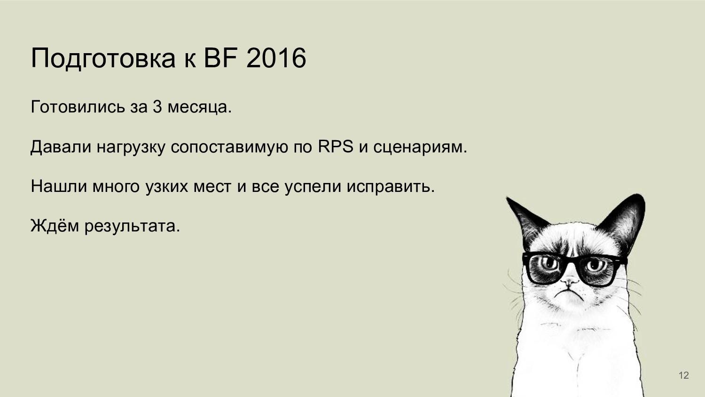 Подготовка к BF 2016 Готовились за 3 месяца. Да...