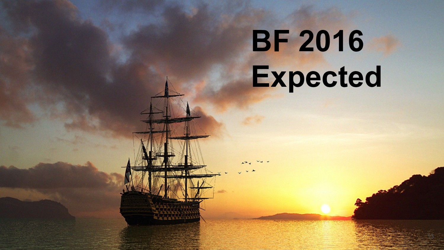 BF 2016 Expected 13