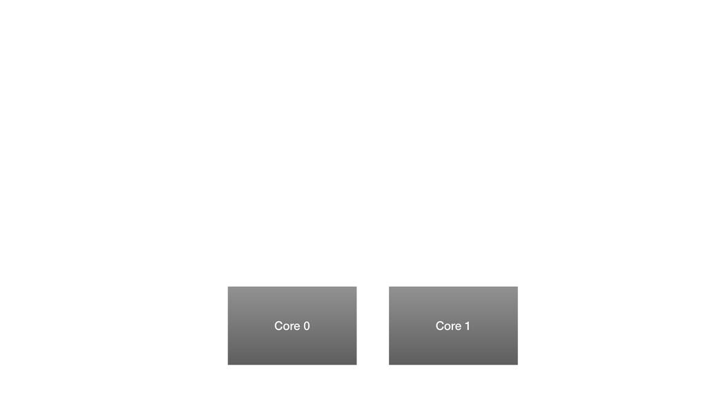 Core 0 Core 1