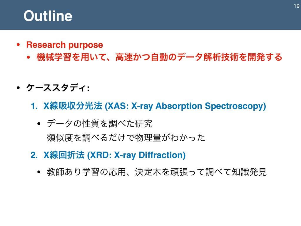• Research purpose • ػցֶशΛ༻͍ͯɺߴ͔ͭࣗಈͷσʔλղੳٕज़Λ։ൃ...