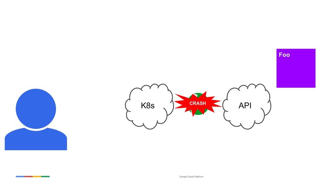 Google Cloud Platform K8s Foo API CRASH
