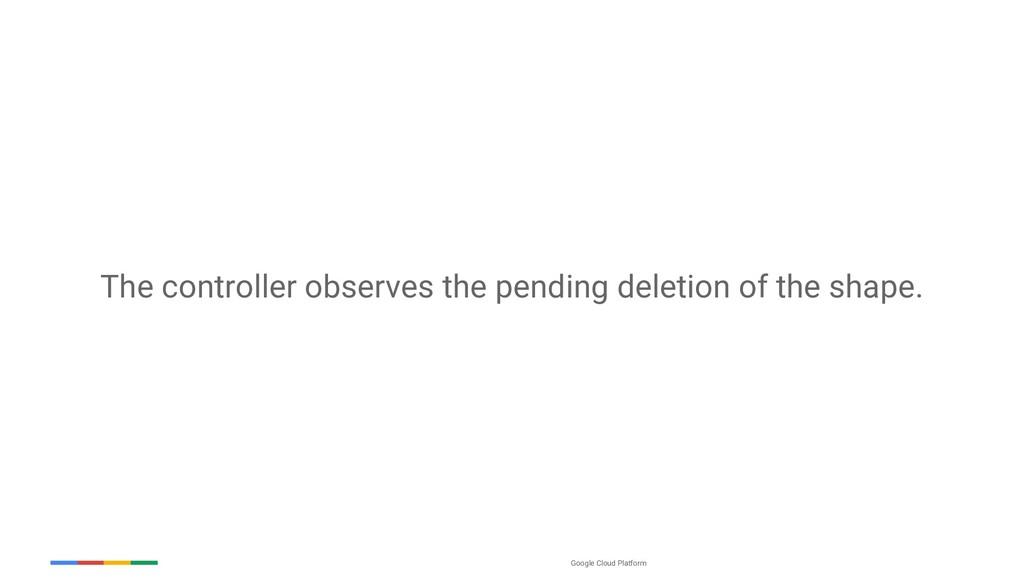 Google Cloud Platform The controller observes t...