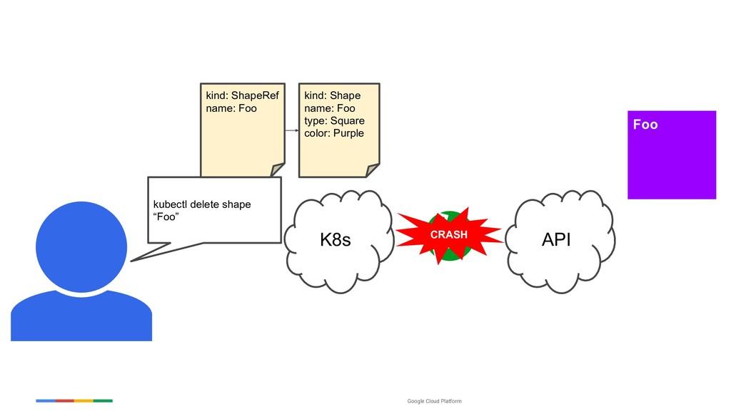 Google Cloud Platform K8s Foo API CRASH kubectl...