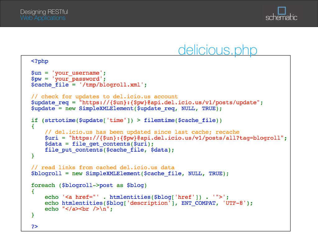September 13, 2007 Designing RESTful Web Applic...