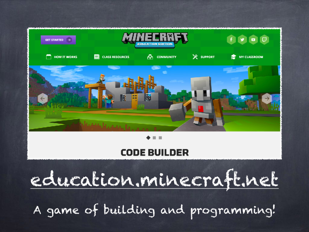 education.minecraft.net A game of building and ...