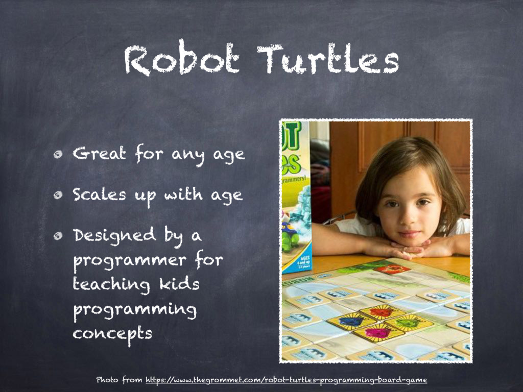 Robot Turtles Great for any age Scales up with ...