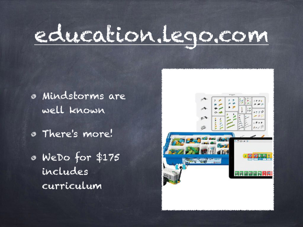 education.lego.com Mindstorms are well known Th...