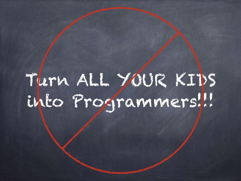 Turn ALL YOUR KIDS into Programmers!!!
