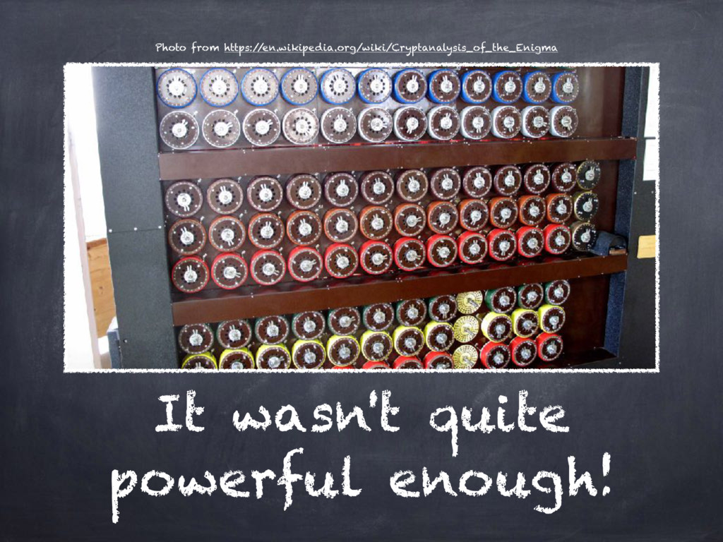 It wasn't quite powerful enough! Photo from htt...