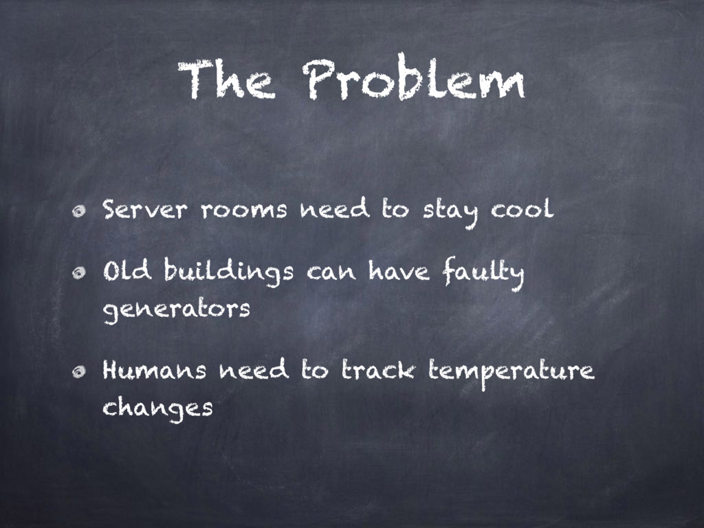 The Problem Server rooms need to stay cool Old ...