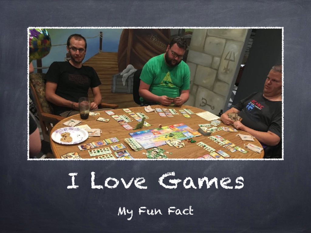 I Love Games My Fun Fact