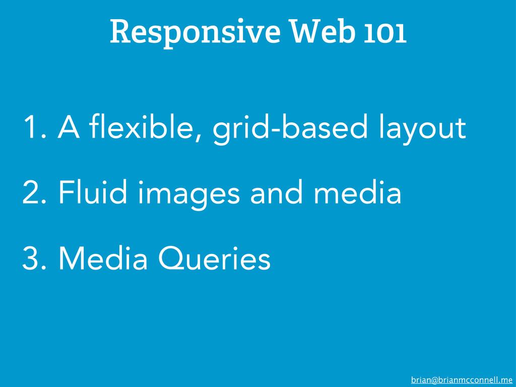 brian@brianmcconnell.me Responsive Web 101 1. A...