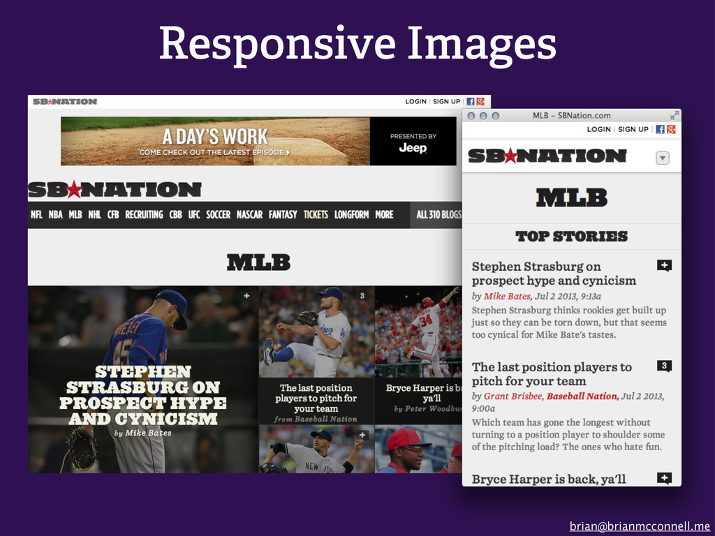 brian@brianmcconnell.me Responsive Images