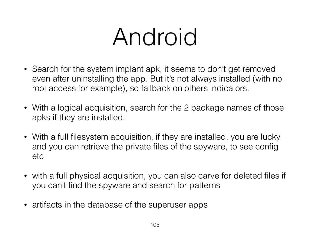 Android • Search for the system implant apk, it...