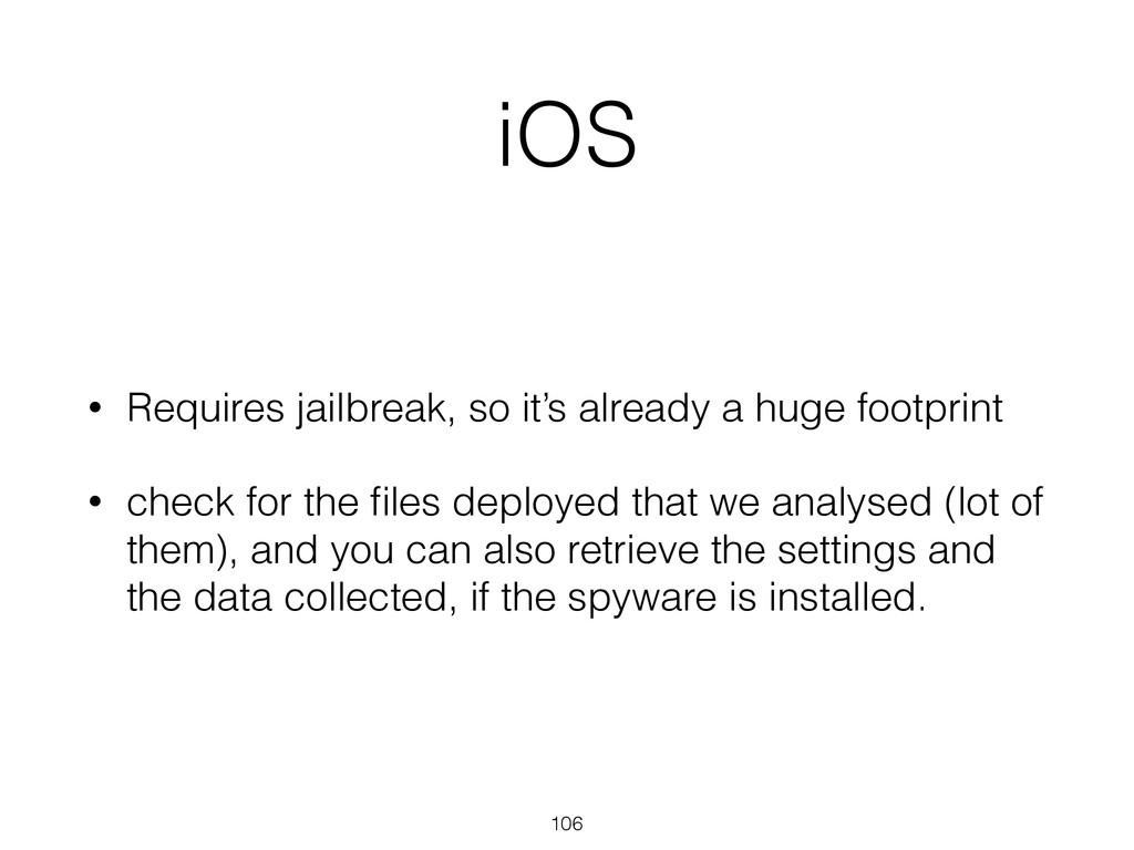 iOS • Requires jailbreak, so it's already a hug...