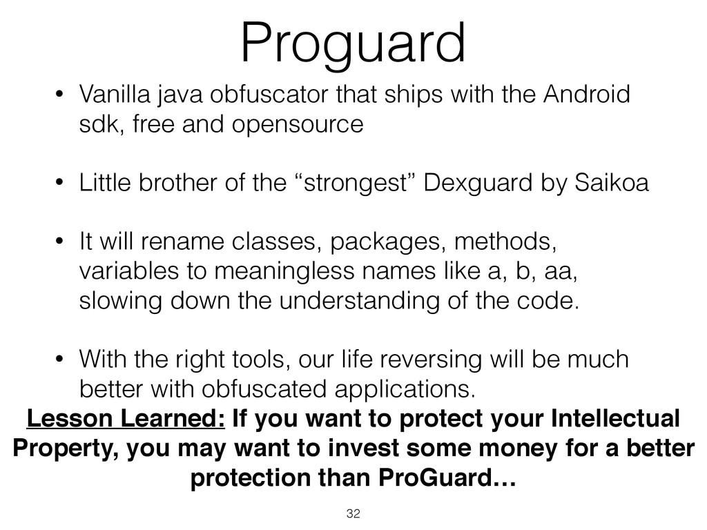 Proguard • Vanilla java obfuscator that ships w...