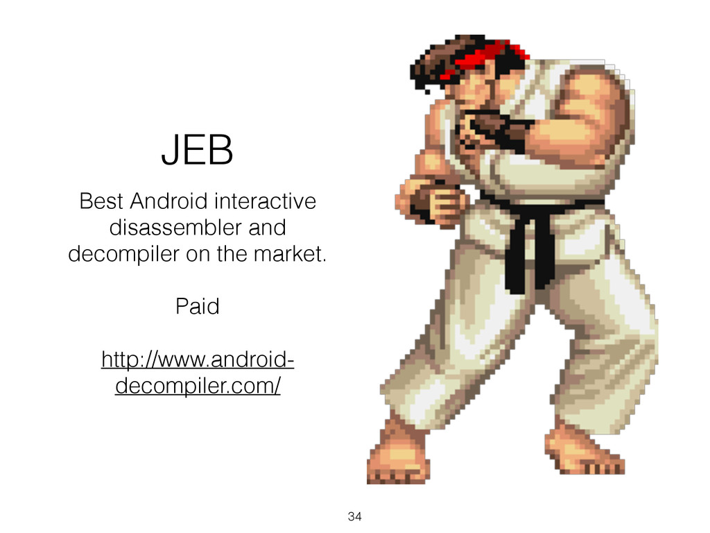 JEB Best Android interactive disassembler and d...