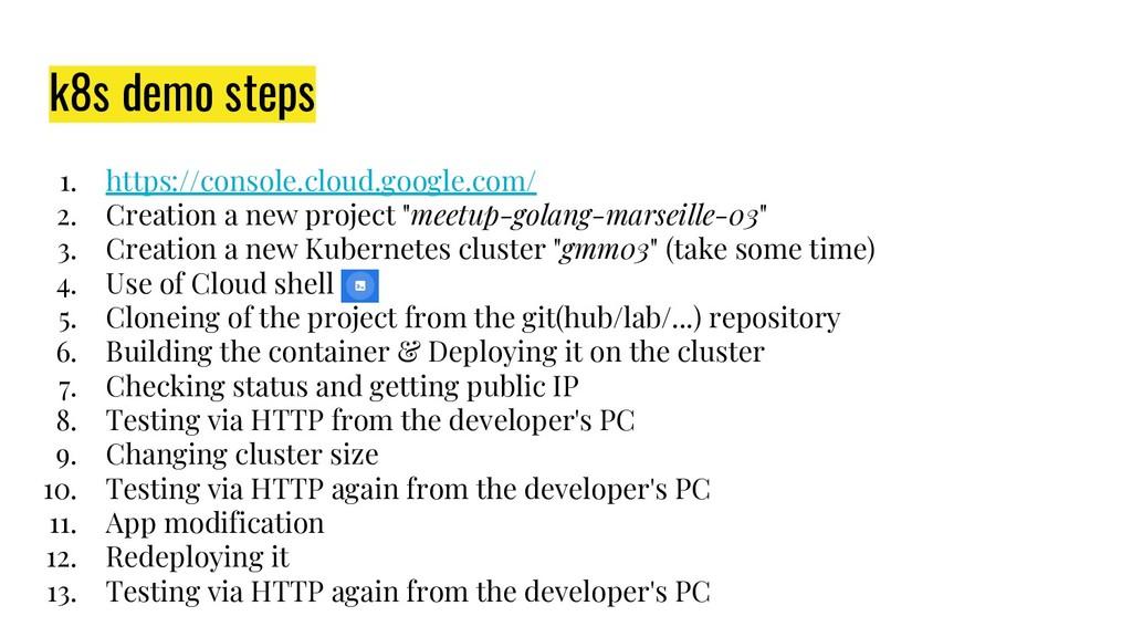 1. https://console.cloud.google.com/ 2. Creatio...