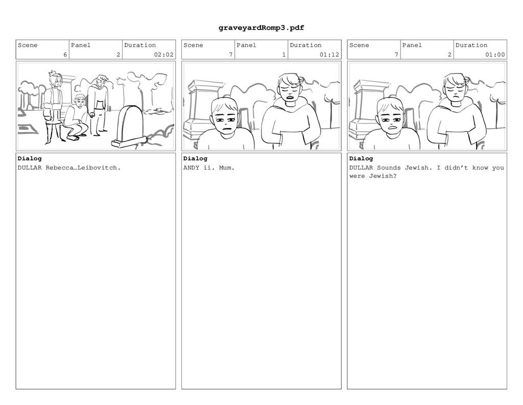 Scene 6 Panel 2 Duration 02:02 Dialog DULLAR Re...