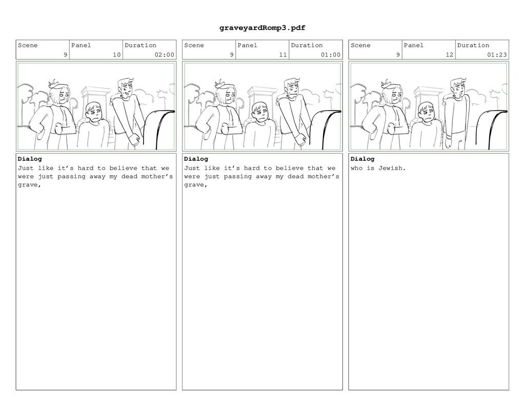Scene 9 Panel 10 Duration 02:00 Dialog Just lik...