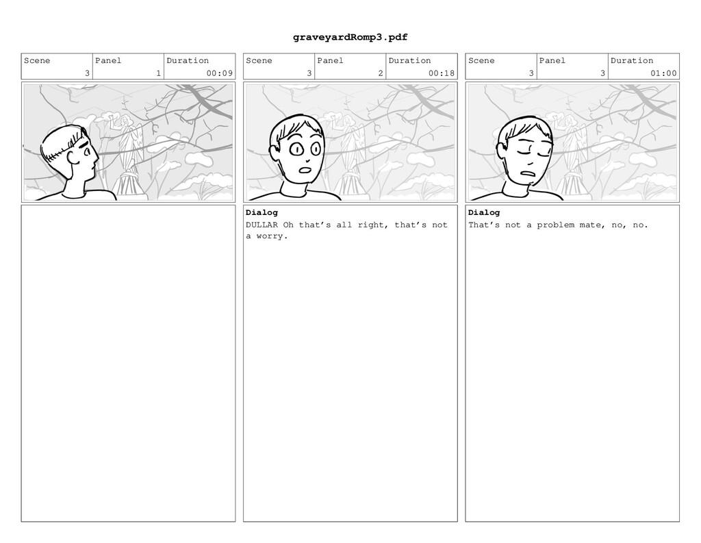 Scene 3 Panel 1 Duration 00:09 Scene 3 Panel 2 ...