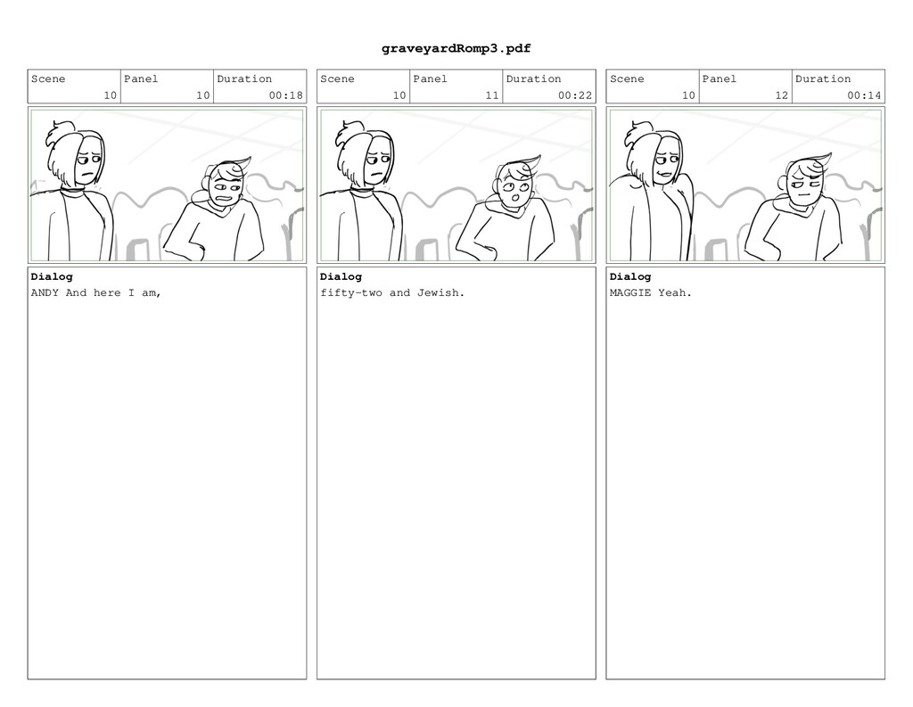 Scene 10 Panel 10 Duration 00:18 Dialog ANDY An...