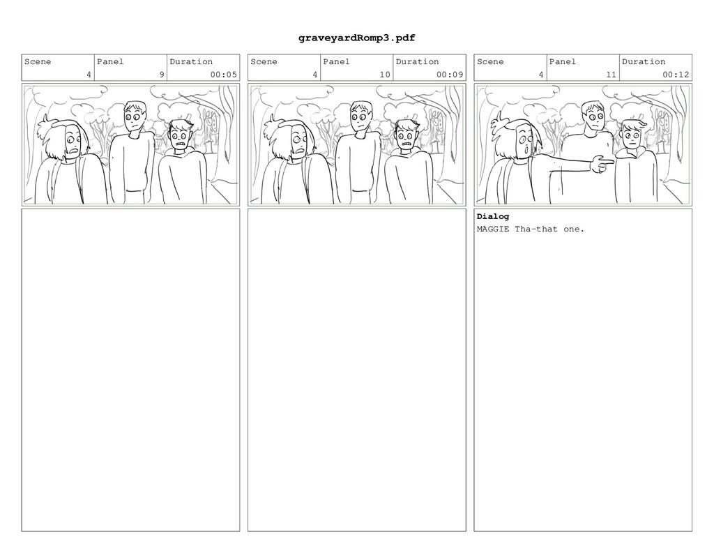 Scene 4 Panel 9 Duration 00:05 Scene 4 Panel 10...