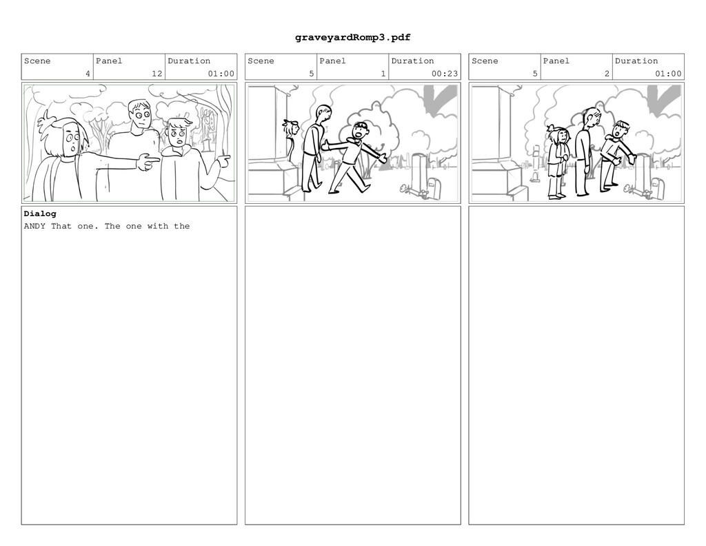 Scene 4 Panel 12 Duration 01:00 Dialog ANDY Tha...