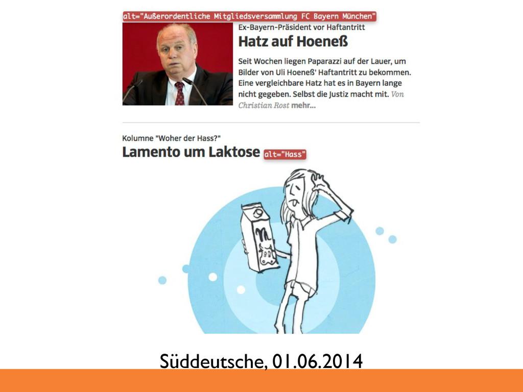Süddeutsche, 01.06.2014