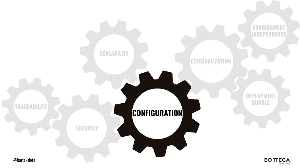 @bartekslota CONFIGURATION EXTERNALIZATION ENVI...