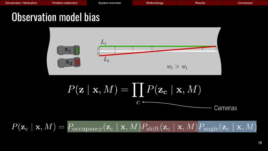Observation model bias Introduction / Motivatio...