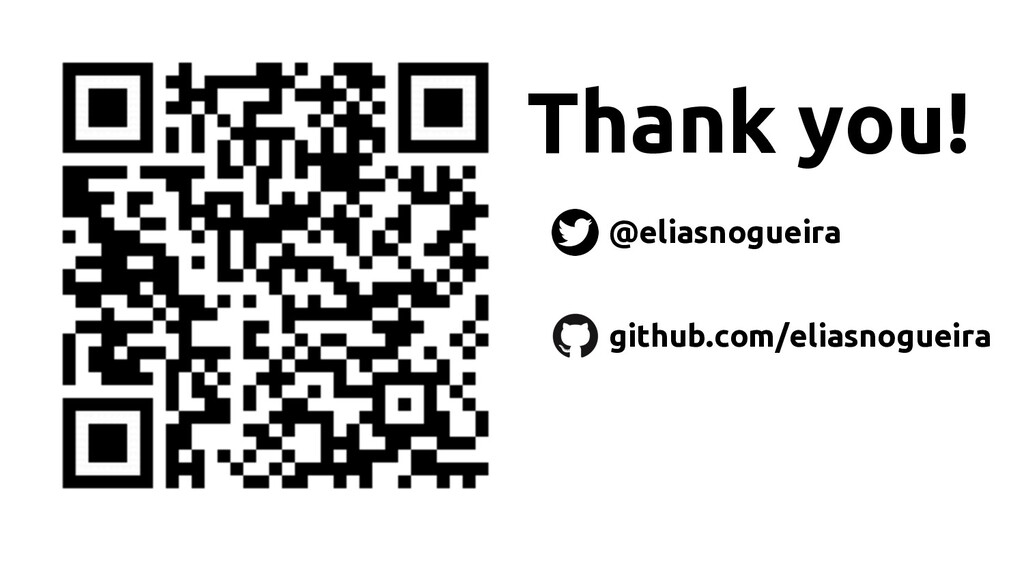 Thank you! @eliasnogueira github.com/eliasnogue...
