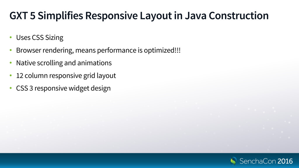 GXT 5 Simplifies Responsive Layout in Java Cons...
