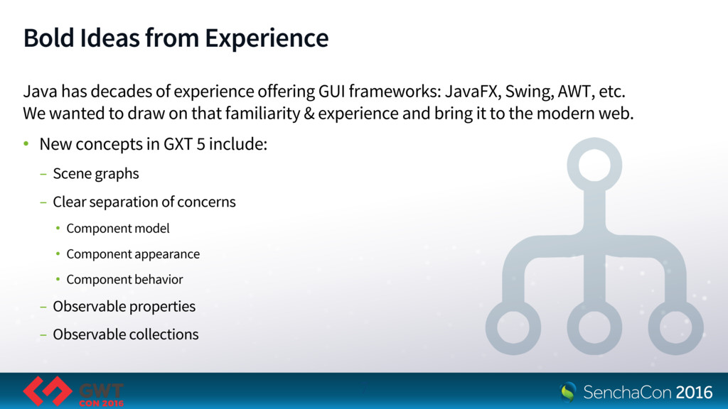 Bold Ideas from Experience Java has decades of ...