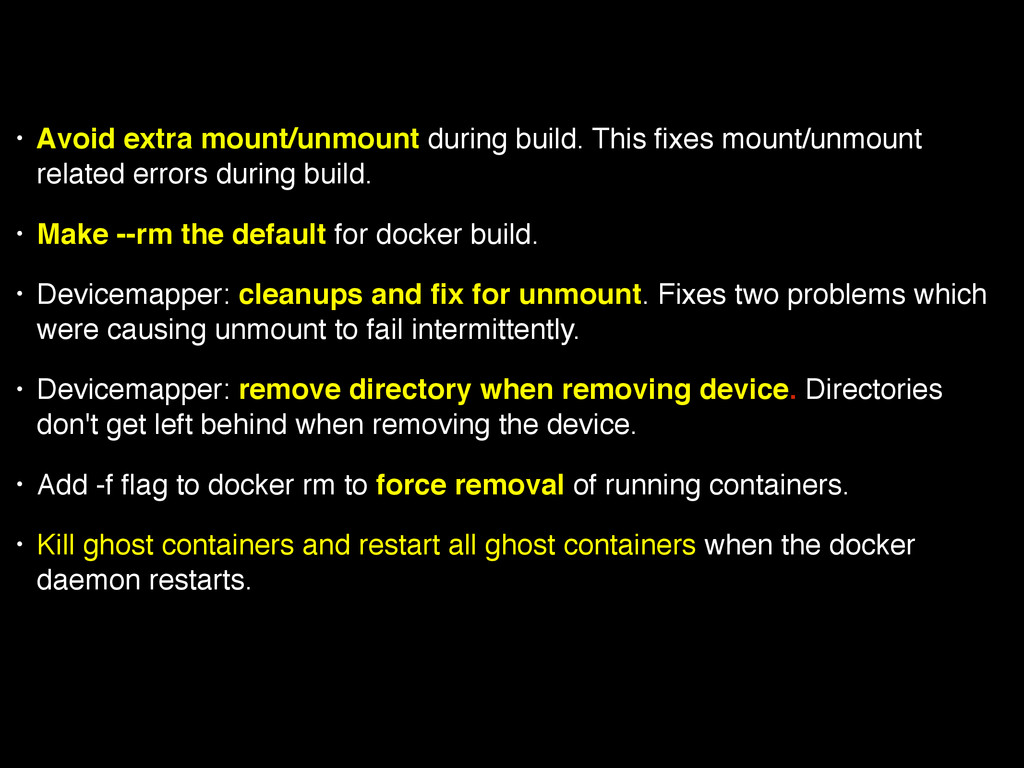 • Avoid extra mount/unmount during build. This ...