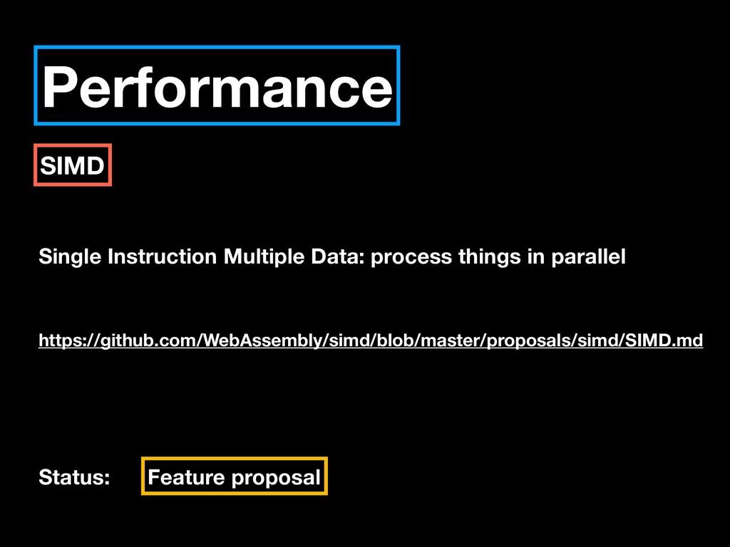 Performance SIMD Single Instruction Multiple Da...