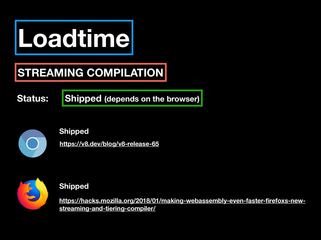 Loadtime STREAMING COMPILATION Status: Shipped ...