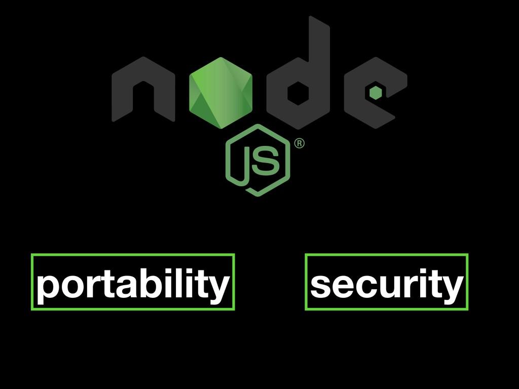 portability security