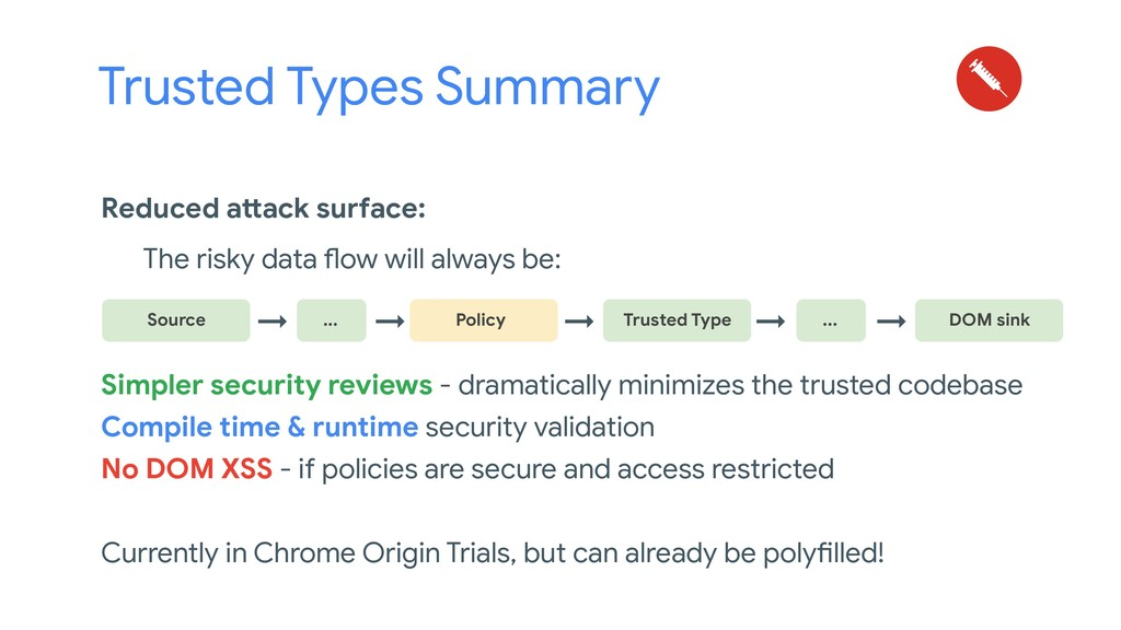 Reduced attack surface: The risky data flow wil...