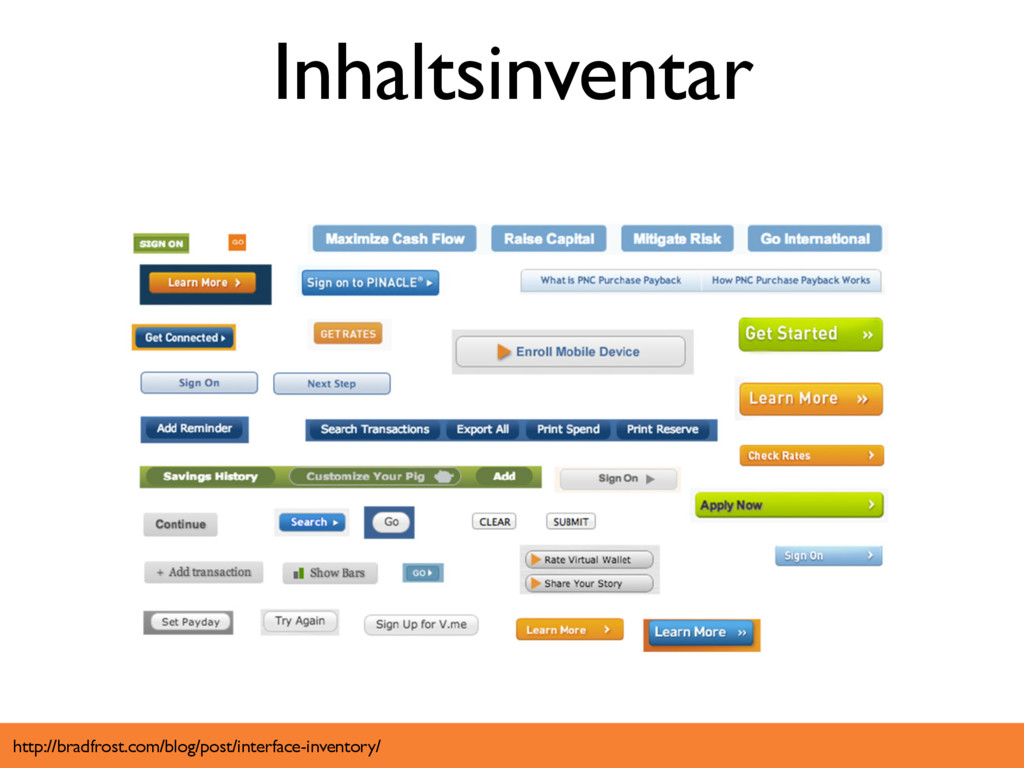 Inhaltsinventar http://bradfrost.com/blog/post/...