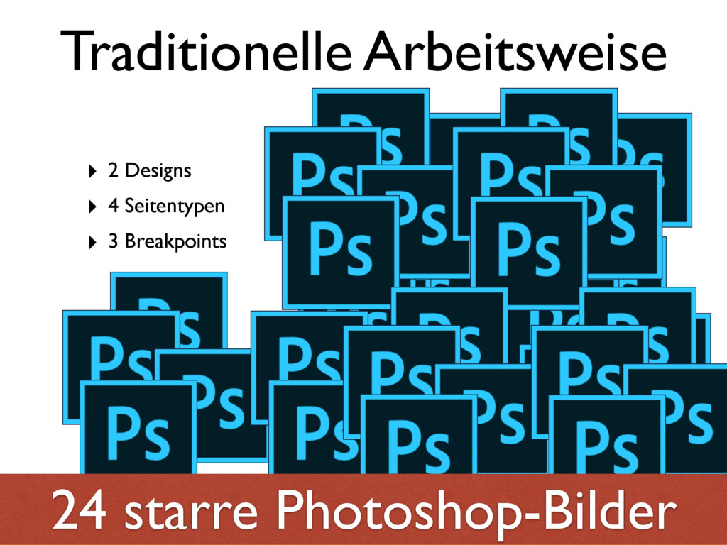 Traditionelle Arbeitsweise ‣ 2 Designs ‣ 4 Seit...