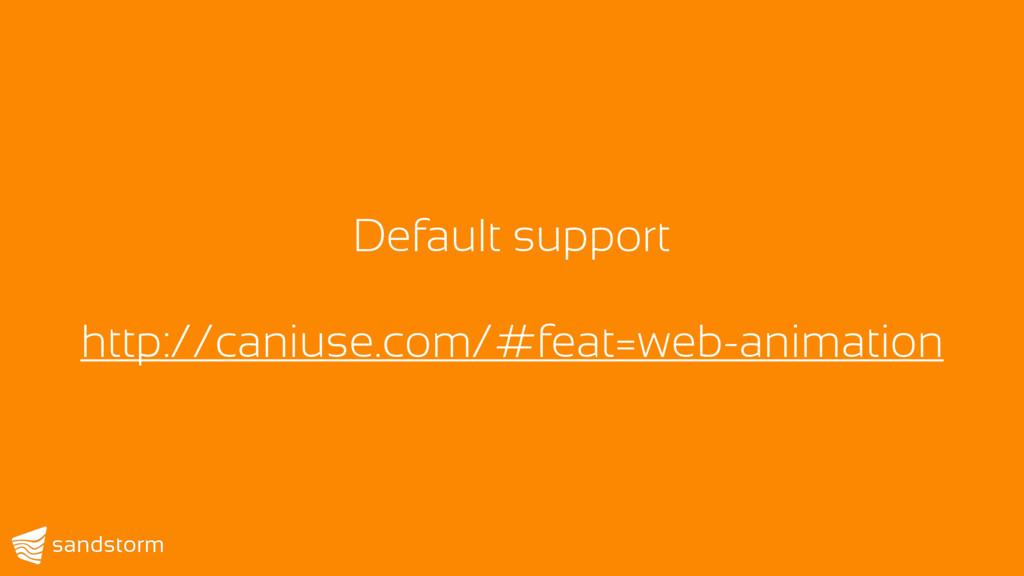 Default support http://caniuse.com/#feat=web-an...