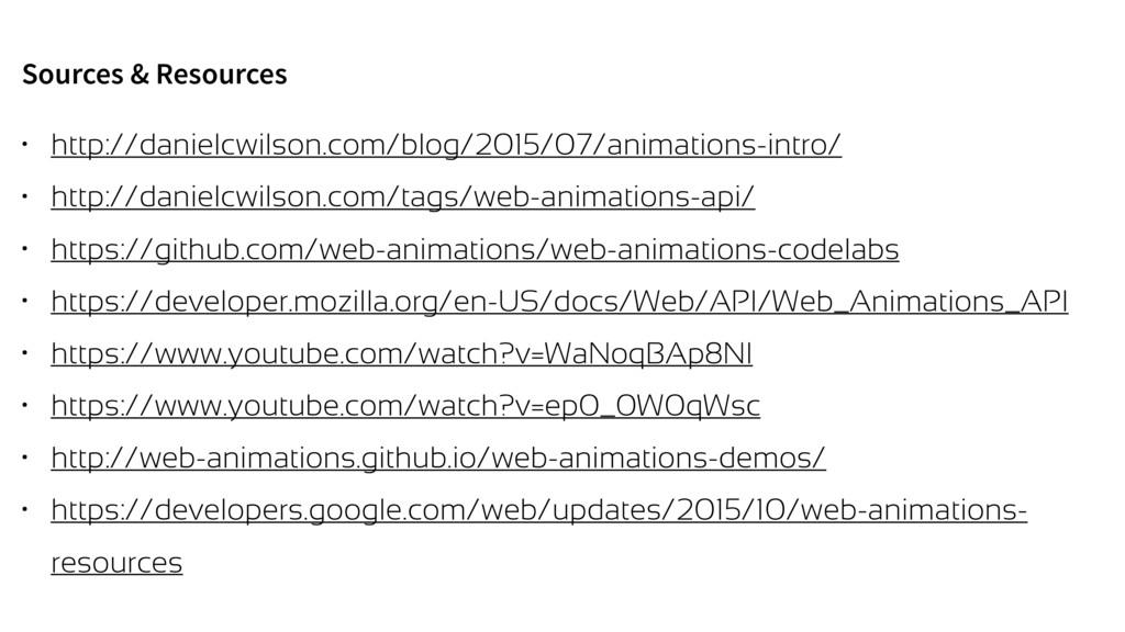 Sources & Resources • http://danielcwilson.com/...