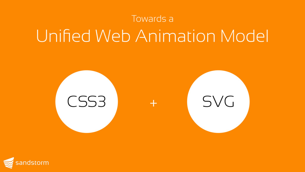 CSS3 + SVG Towards a  Unified Web Animation Mod...