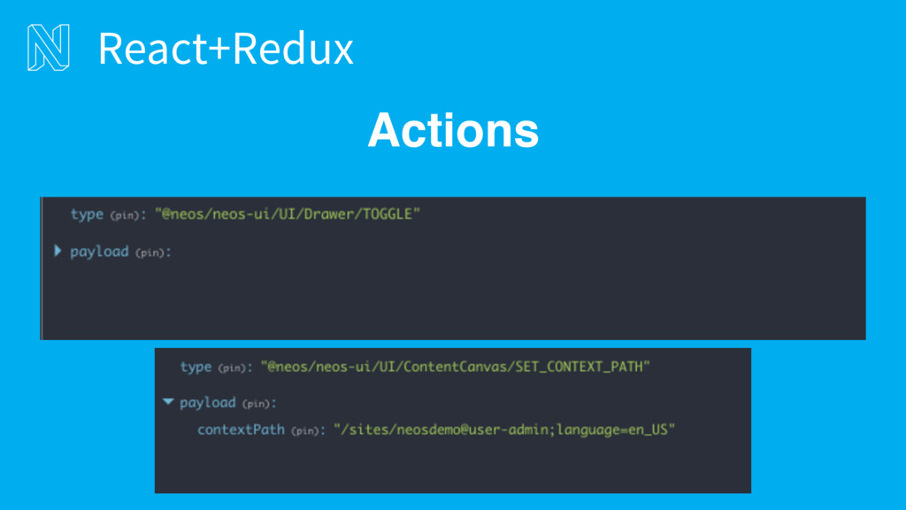 Actions React+Redux