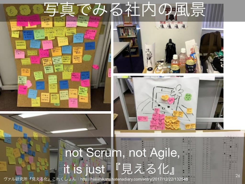 ࣸਅͰΈΔࣾͷ෩ܠ not Scrum, not Agile,  it is just ʰݟ...