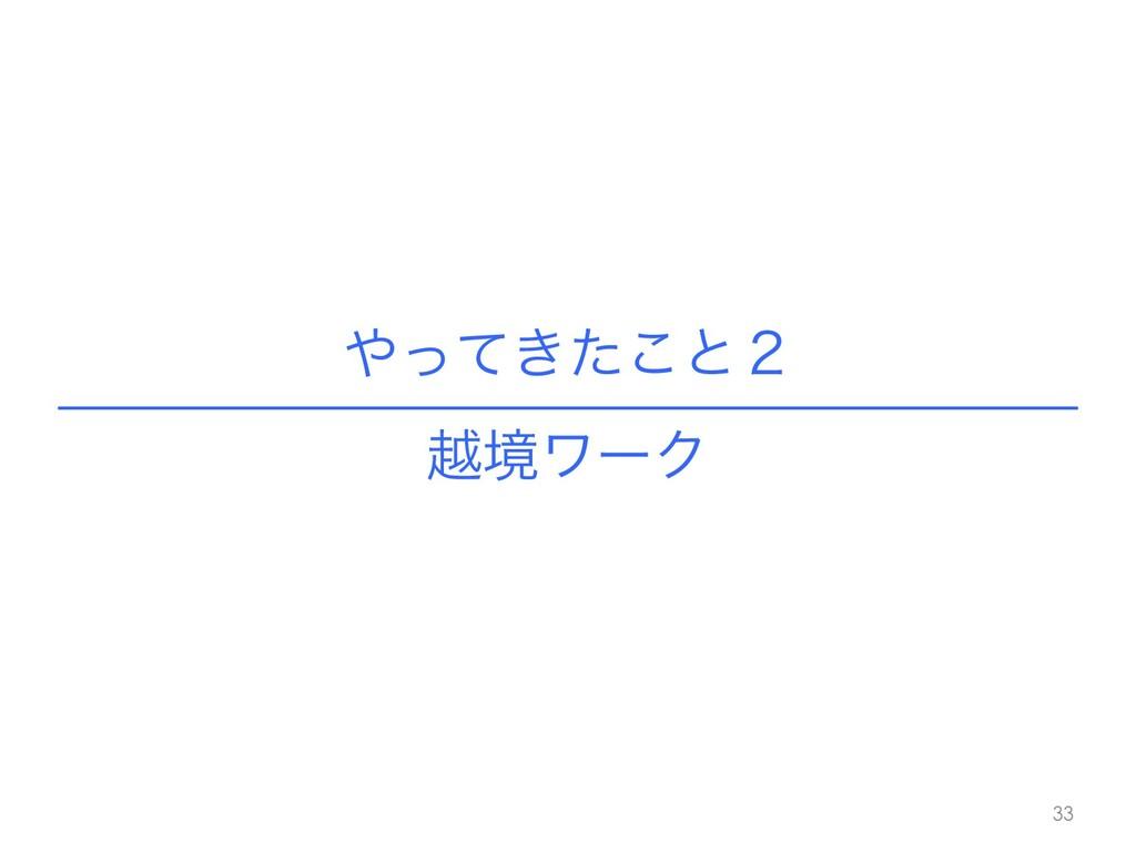 ͖ͬͯͨ͜ͱ̎ !33 ӽڥϫʔΫ