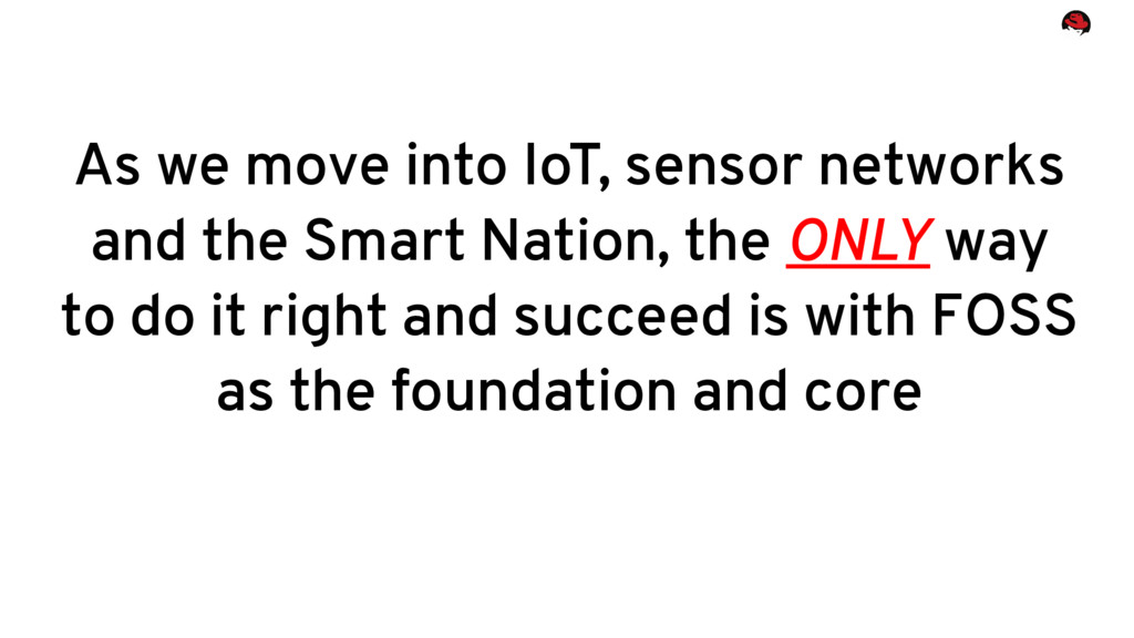 As we move into IoT, sensor networks and the Sm...