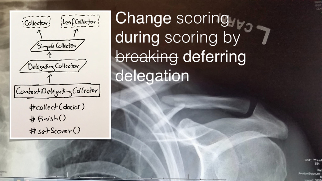 Change scoring during scoring by breaking defer...