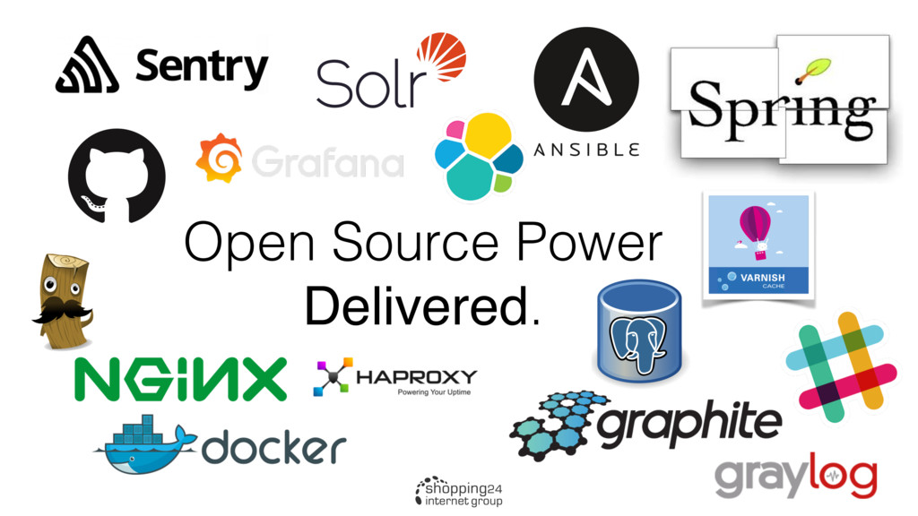 Open Source Power Delivered.